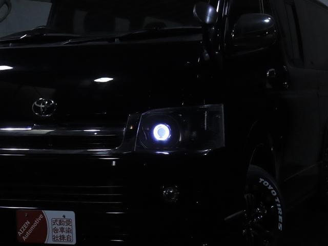 ロングスーパーGL ディーゼル 4WD ワンオーナー/新品ホイール/新品ホワイトレタータイヤ/ヘッドライト加工/社外エアロ(11枚目)