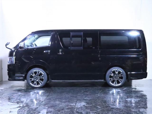 ロングスーパーGL ディーゼル 4WD ワンオーナー/新品ホイール/新品ホワイトレタータイヤ/ヘッドライト加工/社外エアロ(17枚目)
