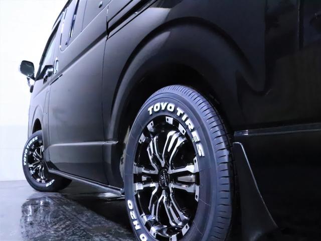 ロングスーパーGL ディーゼル 4WD ワンオーナー/新品ホイール/新品ホワイトレタータイヤ/ヘッドライト加工/社外エアロ(19枚目)