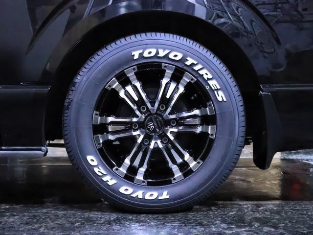 ロングスーパーGL ディーゼル 4WD ワンオーナー/新品ホイール/新品ホワイトレタータイヤ/ヘッドライト加工/社外エアロ(20枚目)