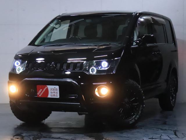 G ナビパッケージ 4WD/パワースライドドア/バンパーガード/ヘッドライト加工/新品ホイール/新品マッドタイヤ(2枚目)