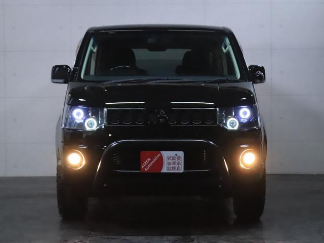 G ナビパッケージ 4WD/パワースライドドア/バンパーガード/ヘッドライト加工/新品ホイール/新品マッドタイヤ(4枚目)