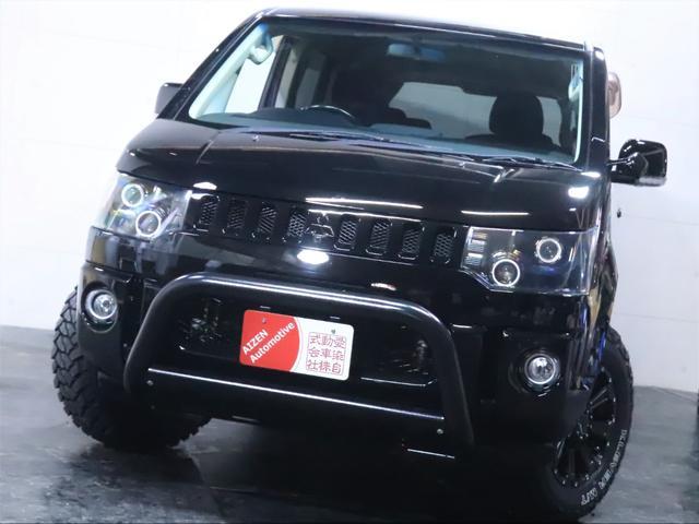 G ナビパッケージ 4WD/パワースライドドア/バンパーガード/ヘッドライト加工/新品ホイール/新品マッドタイヤ(6枚目)