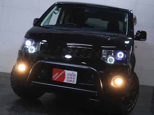 G ナビパッケージ 4WD/パワースライドドア/バンパーガード/ヘッドライト加工/新品ホイール/新品マッドタイヤ(7枚目)