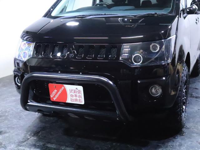 G ナビパッケージ 4WD/パワースライドドア/バンパーガード/ヘッドライト加工/新品ホイール/新品マッドタイヤ(8枚目)