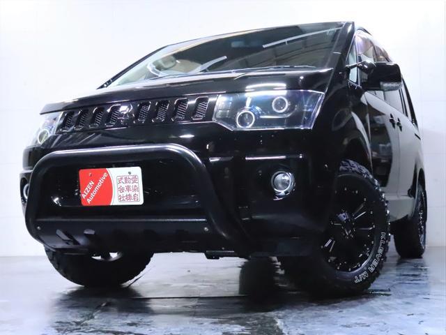 G ナビパッケージ 4WD/パワースライドドア/バンパーガード/ヘッドライト加工/新品ホイール/新品マッドタイヤ(10枚目)