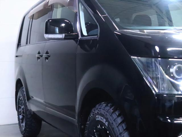 G ナビパッケージ 4WD/パワースライドドア/バンパーガード/ヘッドライト加工/新品ホイール/新品マッドタイヤ(13枚目)