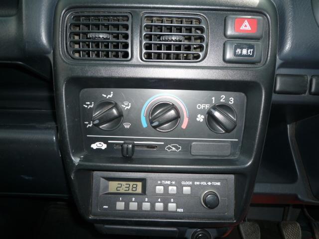 ホンダ アクティトラック SDX 4WD パワステ 5速マニュアル 作業灯