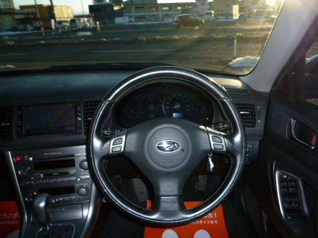 スバル レガシィツーリングワゴン 2.0GT 4WD ナビ ETC ウエッズ17インチAW