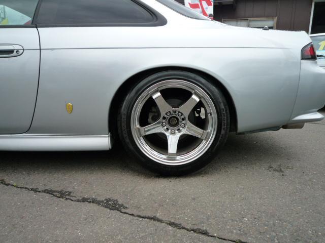 日産 シルビア K's レカロ 車高調 マフラー インタークーラー ブーコン
