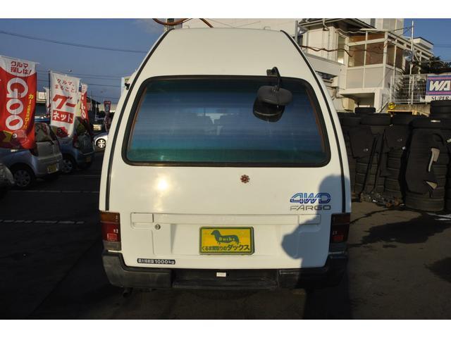 いすゞ ファーゴバン 旧車2.4軽油4WDロングハイルーフ5MTエアコンパワステ