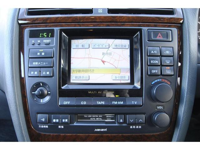 ブロアムVIP VQ30DET FOURCAM ターボ アクティブダンパー 全席電動 マルチAV キーレス クルーズコントロール 電動チルト&テレスコピックステアリング 革巻ステアリング 純正アルミ(21枚目)