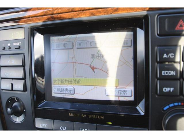 ブロアムVIP VQ30DET FOURCAM ターボ アクティブダンパー 全席電動 マルチAV キーレス クルーズコントロール 電動チルト&テレスコピックステアリング 革巻ステアリング 純正アルミ(23枚目)