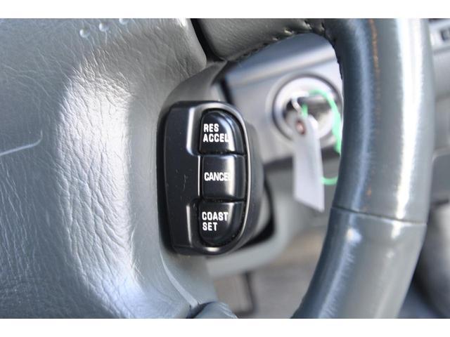 ブロアムVIP VQ30DET FOURCAM ターボ アクティブダンパー 全席電動 マルチAV キーレス クルーズコントロール 電動チルト&テレスコピックステアリング 革巻ステアリング 純正アルミ(37枚目)