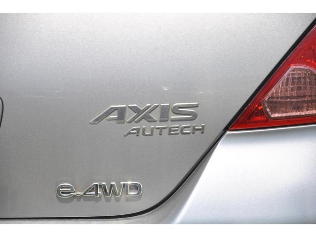 アクシス 4WD ウッド茶革シート ナビ バックカメラ ETC 本革シート(26枚目)