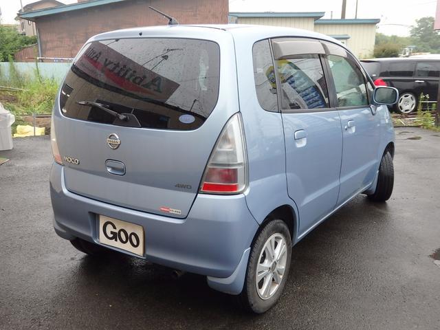 日産 モコ Q 4WD CD MD キーレス