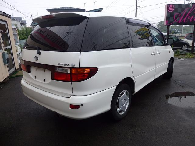 トヨタ エスティマL X 4WD CD 両側スライドドア