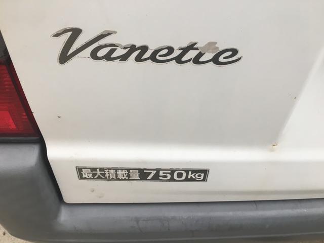 日産 バネットバン エアコン パワステ 5速マニュアル 左側スライドドア ラジオ
