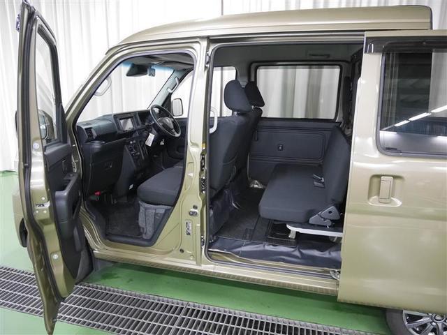 デッキバンG 4WD ワンセグ メモリーナビ バックカメラ 衝突被害軽減システム LEDヘッドランプ アイドリングストップ(9枚目)