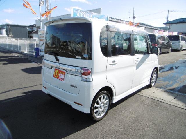ダイハツ タント カスタムRS 4WD 電動スライドドア HID 2年保証付