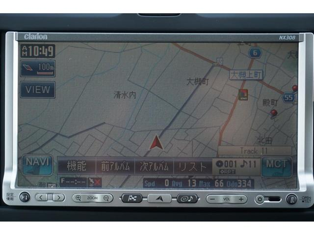 X FOUR Vセレクション 4WD 社外メモリーナビ ワンセグテレビ スマートキー オートライト 3年保証付(6枚目)
