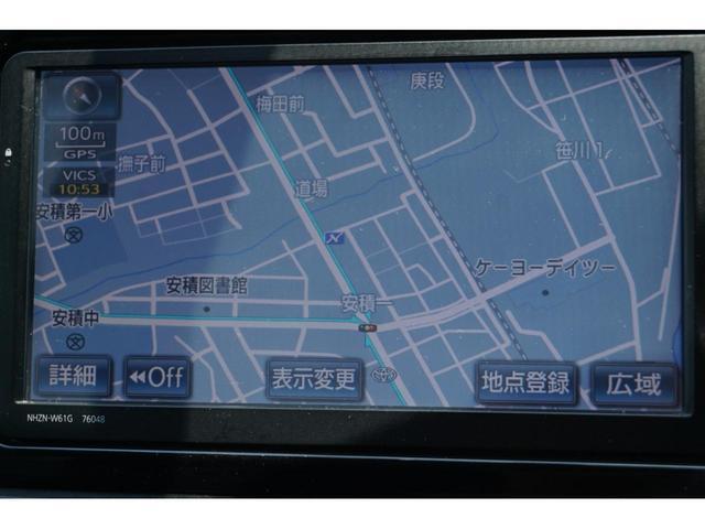1.8Sモノトーン クルーズコントロール ハーフレザーシート 純正HDDナビ バックカメラ ETC スマートキー 3年保証付(10枚目)