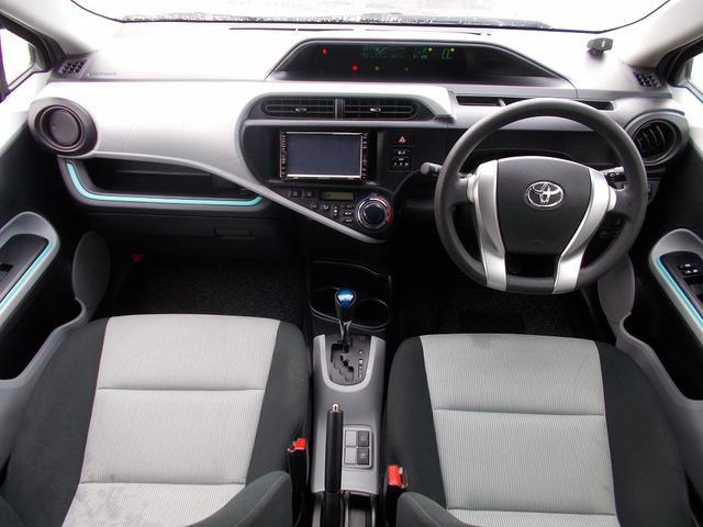 トヨタ アクア S 1オーナー HDDナビ スマートキー ETC