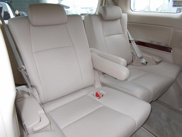 トヨタ アルファード 350G Lパッケージ 4WD 茶革サンルーフ リアモニター