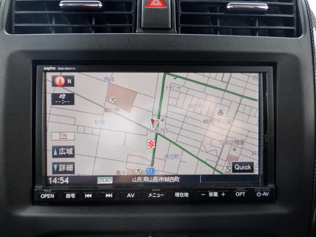 クロスアドベンチャーXC 東京仕入 4WD 社外7インチSDナビ 1セグTV キーレス ヘッドライトレベライザー 電格ミラー CD シートヒーター フォグ ETC 背面タイヤ(4枚目)