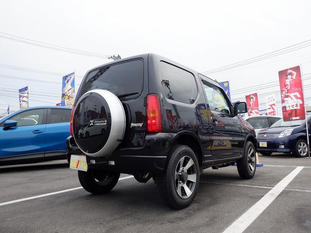 クロスアドベンチャーXC 東京仕入 4WD 社外7インチSDナビ 1セグTV キーレス ヘッドライトレベライザー 電格ミラー CD シートヒーター フォグ ETC 背面タイヤ(11枚目)