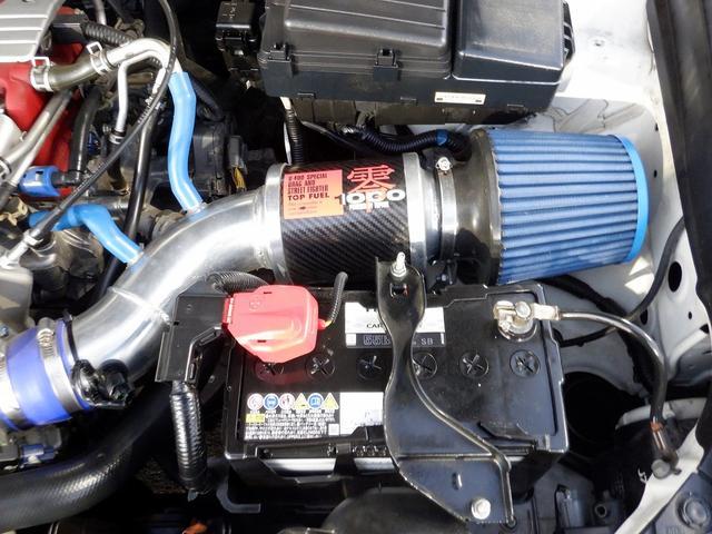 ユーロR 当社買取 社外エンケイアルミ 禁煙車 純正HDDナビ HIDライト フルエアロ 220馬力 キーレス 本革巻きステアリング ETC リアスポイラー 電動格納ウィンカーミラー 衝突安全ボディ UVガラス(38枚目)