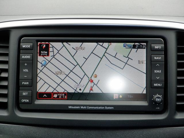 スポーツ ナビパッケージ 4WD 純正7インチHDDナビ CD DVD 12セグTV キーレス インテリキー 電格ミラー ステアリングリモコン MTモード クルーズコントロール 純正18インチAW ETC パドルシフト 保証書(4枚目)