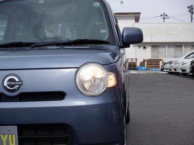 ココアX フル装備 SDナビ 地デジ CD キーレス スマートキー セキュリティー プライバシーガラス オートエアコン 禁煙車 ABS Wエアバック(33枚目)