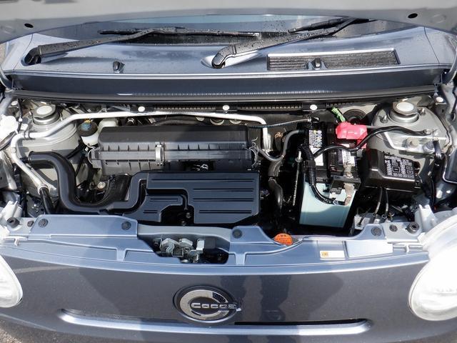 ココアX フル装備 SDナビ 地デジ CD キーレス スマートキー セキュリティー プライバシーガラス オートエアコン 禁煙車 ABS Wエアバック(35枚目)