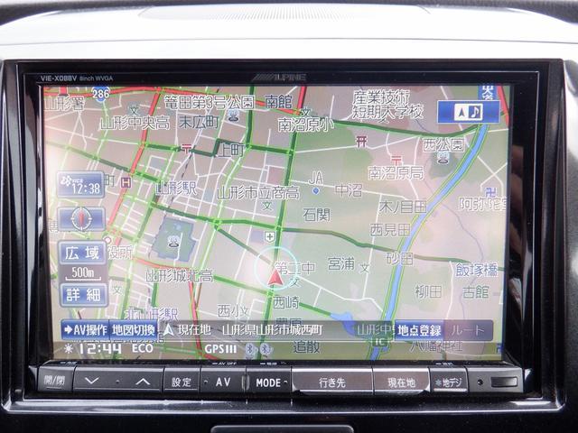 T 東京仕入 社外8インチナビ DVD再生 バックモニター ETC フルセグTV ミュージック接続可能 HIDヘットライト キーレス プッシュスターター パドルシフト 禁煙車 シートヒーター ワンオーナー(4枚目)