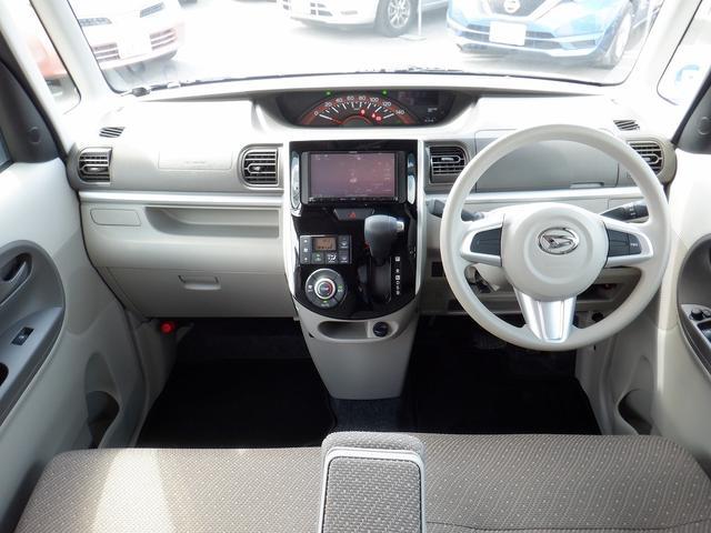 X SAIII 4WD 1オーナー 禁煙車 衝突軽減 コーナーセンサー バックモニター レーンアシスト シートヒーター 左側パワースライドドア プッシュスタート ETC 社外SDナビ フルセグ DVD再生 横滑り防止(2枚目)