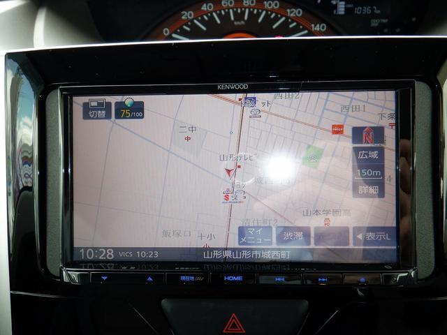X SAIII 4WD 1オーナー 禁煙車 衝突軽減 コーナーセンサー バックモニター レーンアシスト シートヒーター 左側パワースライドドア プッシュスタート ETC 社外SDナビ フルセグ DVD再生 横滑り防止(4枚目)