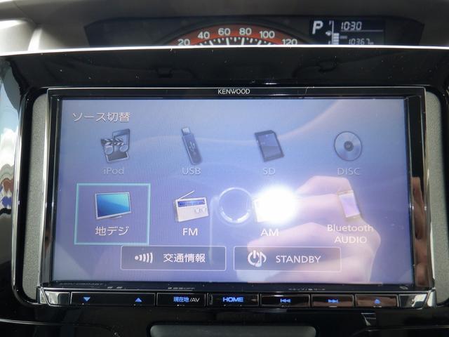 X SAIII 4WD 1オーナー 禁煙車 衝突軽減 コーナーセンサー バックモニター レーンアシスト シートヒーター 左側パワースライドドア プッシュスタート ETC 社外SDナビ フルセグ DVD再生 横滑り防止(5枚目)