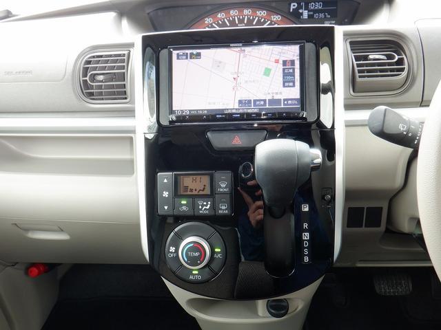 X SAIII 4WD 1オーナー 禁煙車 衝突軽減 コーナーセンサー バックモニター レーンアシスト シートヒーター 左側パワースライドドア プッシュスタート ETC 社外SDナビ フルセグ DVD再生 横滑り防止(24枚目)