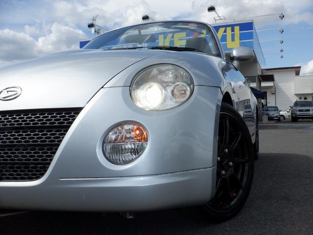 アクティブトップ 東京仕入れ 禁煙車 キーレス  HIDヘッドライト ABS 防眩ミラー 革巻きステアリング ドアミラーヒーター 純正フロアマット シガーソケット(39枚目)