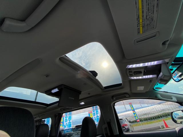 ZR 4WD アドミレーションエアロ サンルーフ アルパイン9型ナビ 後席用モニター 両側電動スライドドア Pバックドア クルーズコントロール ダウンサス 電動シート 100V電源 ETC 1オーナー 禁煙車(33枚目)