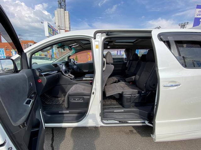 ZR 4WD アドミレーションエアロ サンルーフ アルパイン9型ナビ 後席用モニター 両側電動スライドドア Pバックドア クルーズコントロール ダウンサス 電動シート 100V電源 ETC 1オーナー 禁煙車(72枚目)