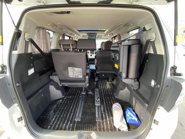 ZR 4WD アドミレーションエアロ サンルーフ アルパイン9型ナビ 後席用モニター 両側電動スライドドア Pバックドア クルーズコントロール ダウンサス 電動シート 100V電源 ETC 1オーナー 禁煙車(76枚目)