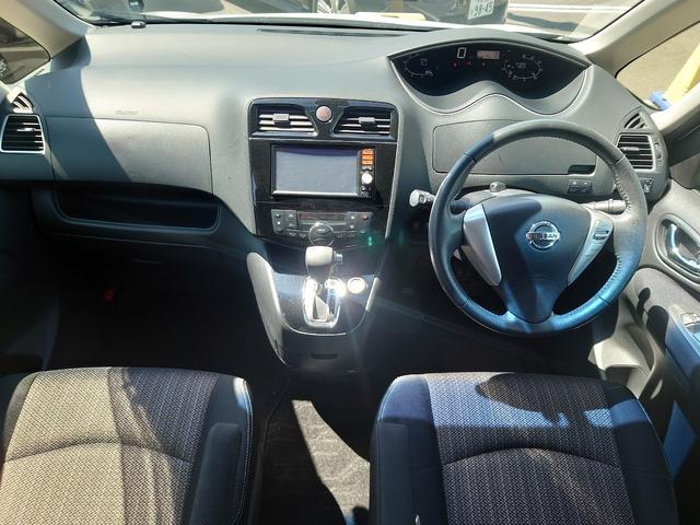 ハイウェイスター S-ハイブリッド 後期型 エマージェンシーブレーキ レーンキープアシスト 純正SDナビ CD再生 フルセグ Mサーバー USB接続 ETC オートライト アイドリングストップ 左側電動スライドドア 1オーナー 禁煙車(2枚目)