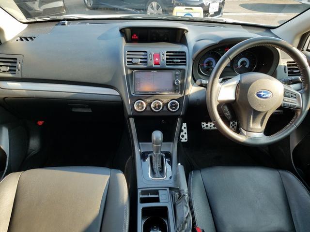 2.0i-L アイサイト 4WD 黒革シート シートヒーター 衝突軽減ブレーキ レーダークルーズ 車線逸脱警告 HIDライト SDナビ フルセグTV CD・DVD再生 Bluetooth接続 バックカメラ ETC スマートキー(2枚目)