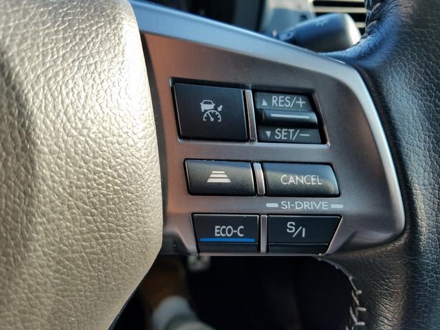 2.0i-L アイサイト 4WD 黒革シート シートヒーター 衝突軽減ブレーキ レーダークルーズ 車線逸脱警告 HIDライト SDナビ フルセグTV CD・DVD再生 Bluetooth接続 バックカメラ ETC スマートキー(32枚目)