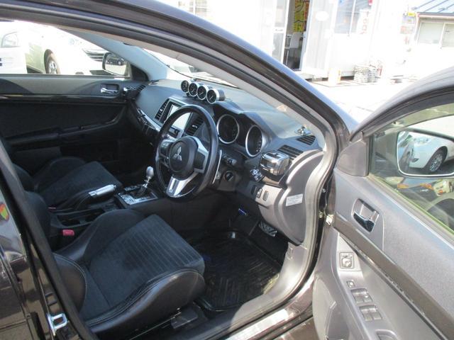 GSRプレミアムエボリューションX  4WD 社外マフラー(9枚目)