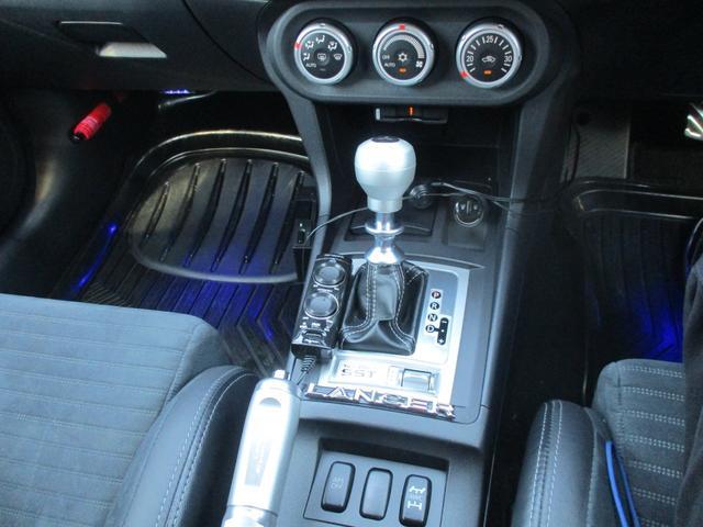 GSRプレミアムエボリューションX  4WD 社外マフラー(12枚目)