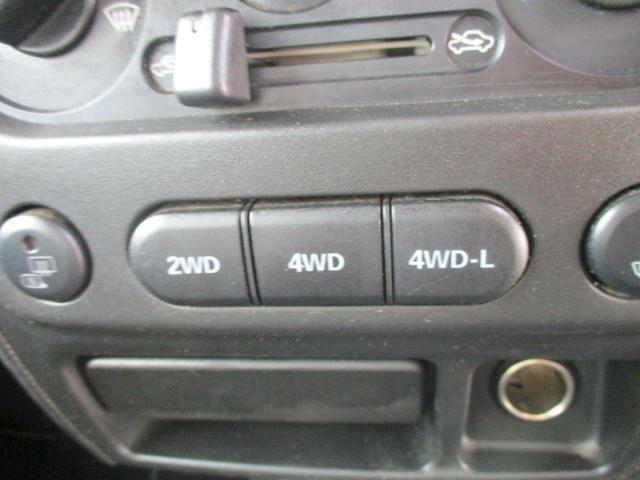 クロスアドベンチャーMT 4WD ナビ 新品タイヤ(15枚目)