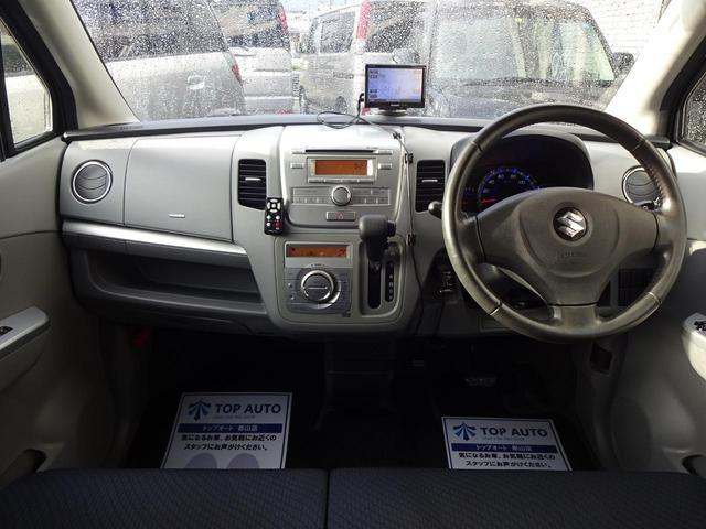 スズキ ワゴンR FXリミテッド ポータブルナビ ワンセグ CD アルミ 保証